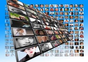 Menschen in Social Media