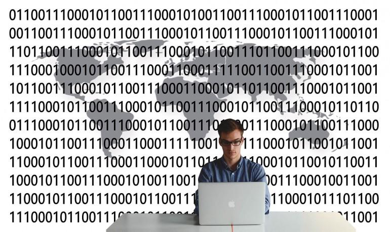 Transfer von Daten über Kontinente hinweg