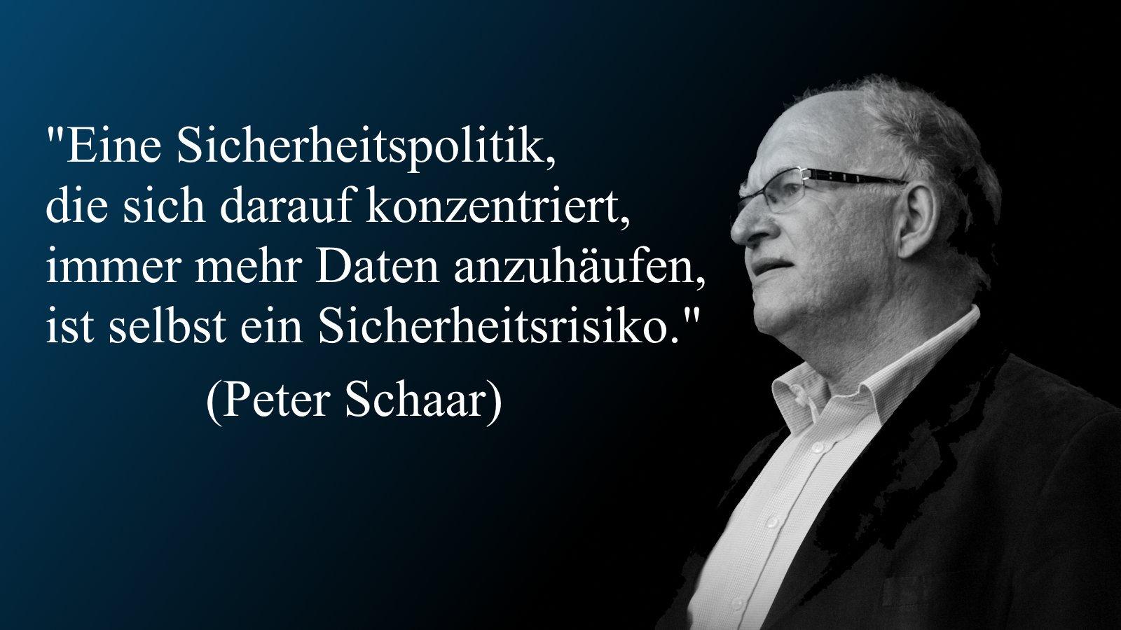 Datenschutz Favoriten Peter Schaar