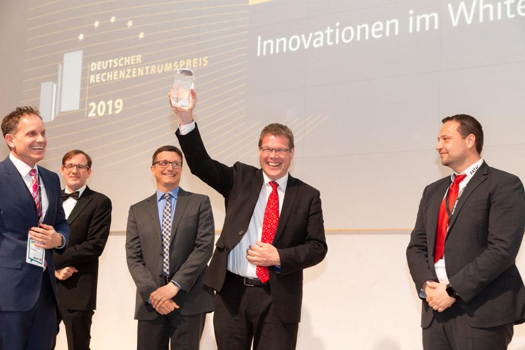 Hubert Jäger bei der Preisverleihung des drzp 2019