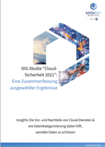 IDG Cloud Security 2021 Insights