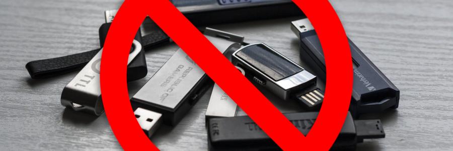 So unsicher sind USB-Sticks